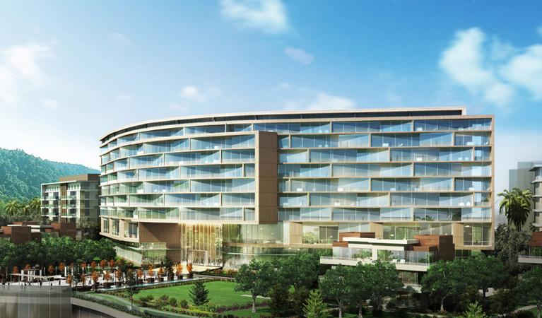 Weihai Sheraton Hotel, Weihai, PRC